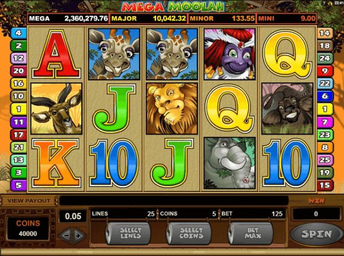 Jackpot Slots Mega Moolah
