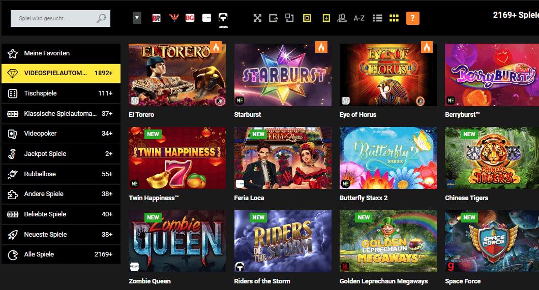 Stake 7 Casino Merkur Spiele
