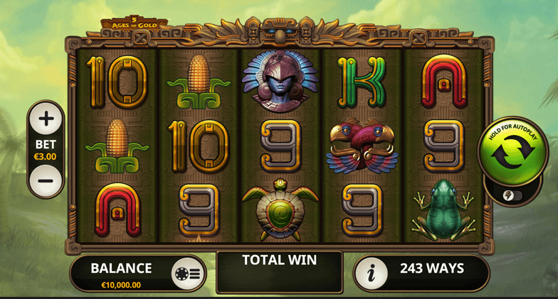 5 Ages of Gold Slot mobil