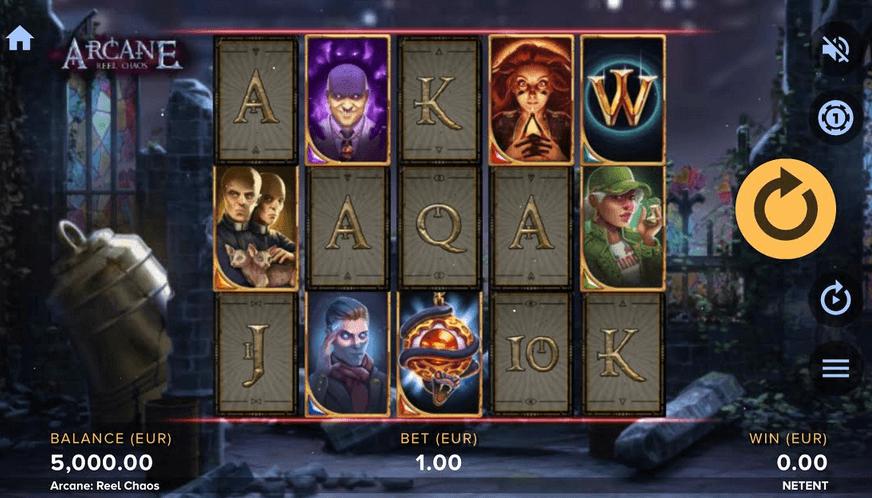 Arcane Reel Chaos Slot mobil