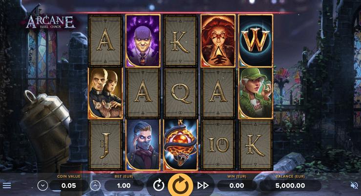 Arcane: Reel Chaos Slot