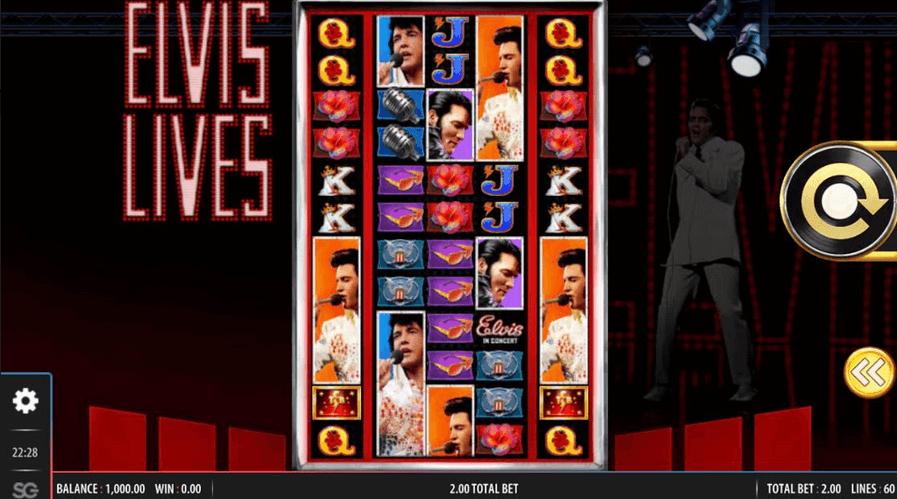 Elvis Lives Slot mobil