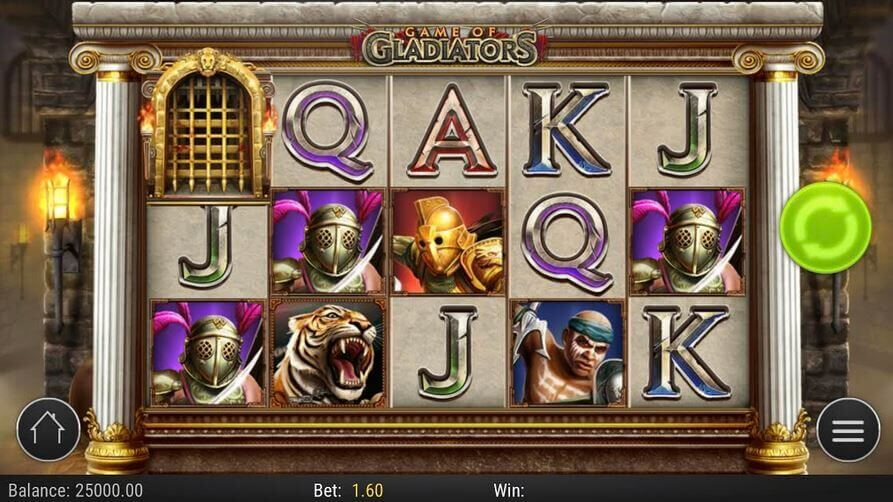 Game of Gladiators Slot mobil