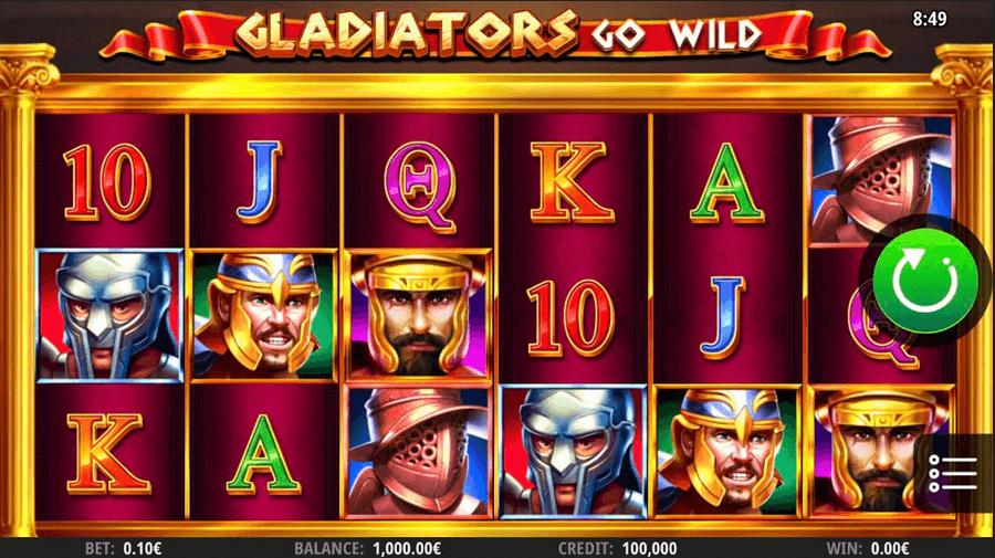 Gladiators Go Wild Slot mobil