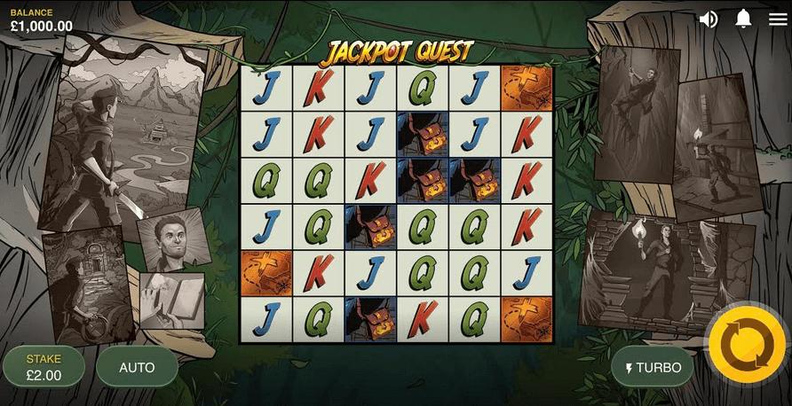 Jackpot Quest Slot Mobil