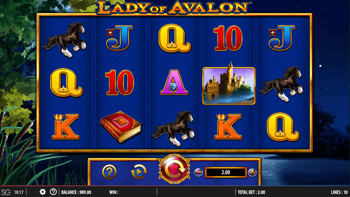 Lady of Avalon Slot