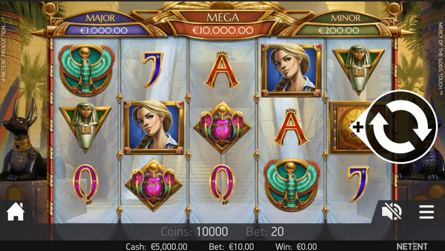 Mercy of the Gods Slot Mobil