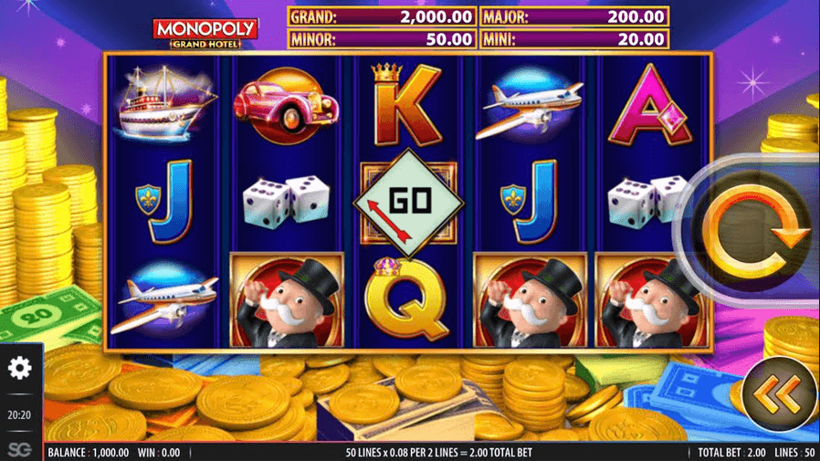 Monopoly Grand Hotel Slot Mobil
