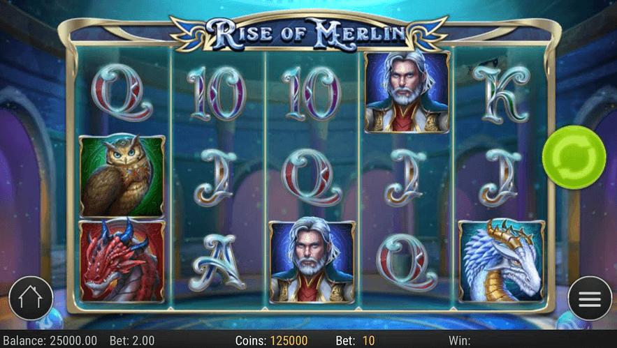 Rise of Merlin Slot Mobil