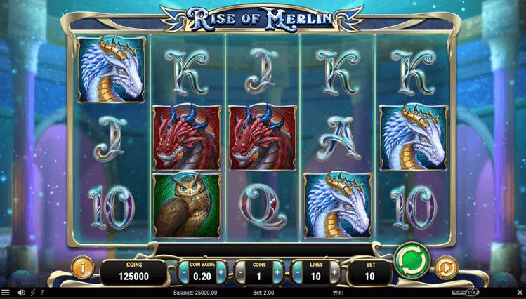 Rise of Merlin Slot