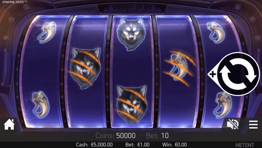 Spinsane Slot Mobil
