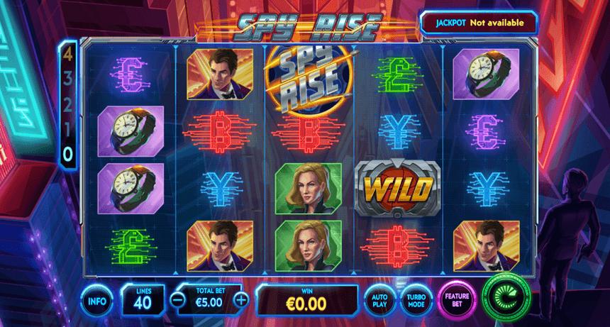 Spy Rise Slot