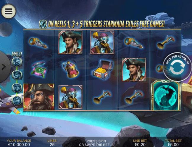 Starmada Exile Pirates Slot Mobil