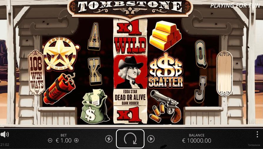 Tombstone Slot Mobil