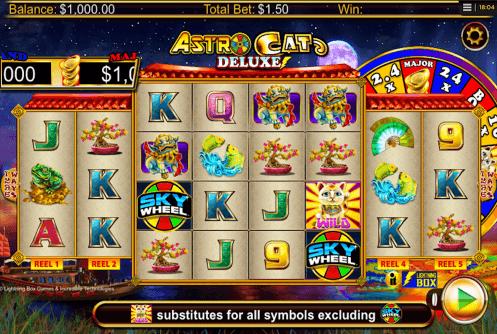 Spiele Astro Cat Deluxe - Video Slots Online