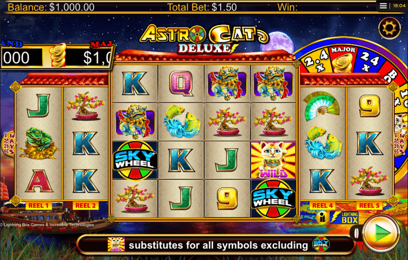 Astro Cat Deluxe Slot Mobil