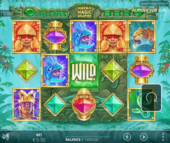 Mayan Magic Wildfire Slot mobil