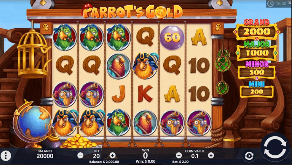 Parrot's Gold Slot
