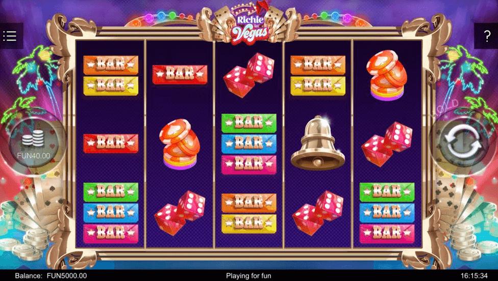 Richie in Vegas Slot Mobil