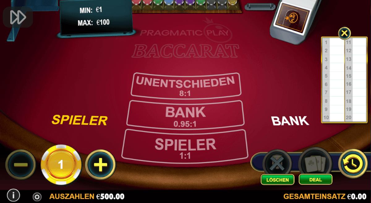 Spiele Punto Banco Privee - Video Slots Online