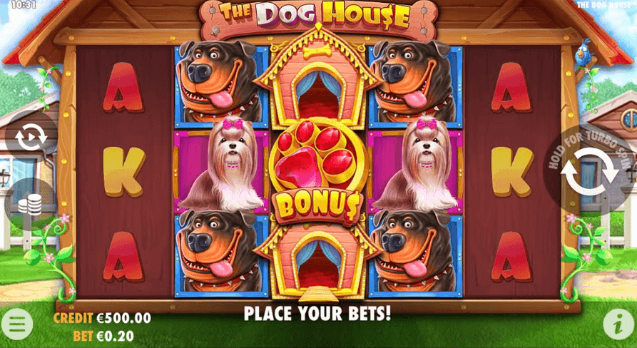 The Dog House Slot Mobil