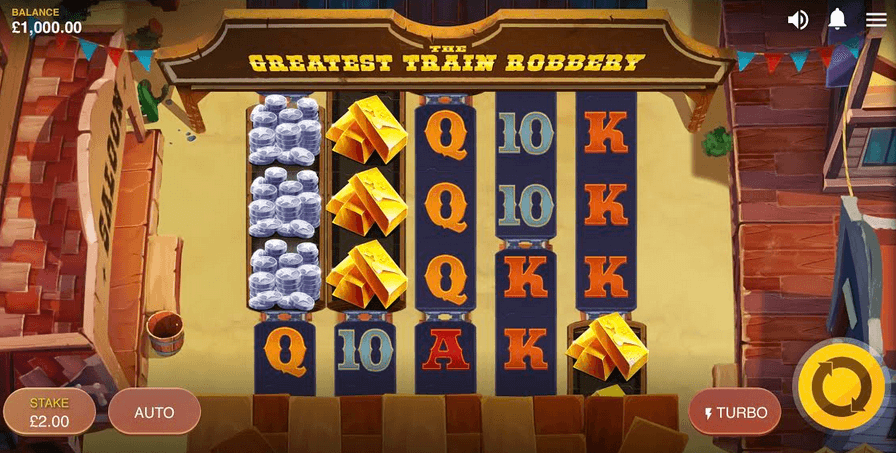 The Greates Train Robbery Slot Mobil