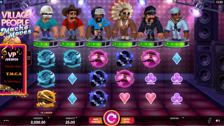 Village People: Macho Moves Slot