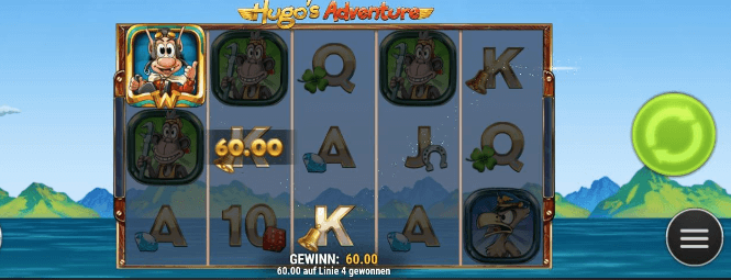 Hugo's Adventure Slot Mobil