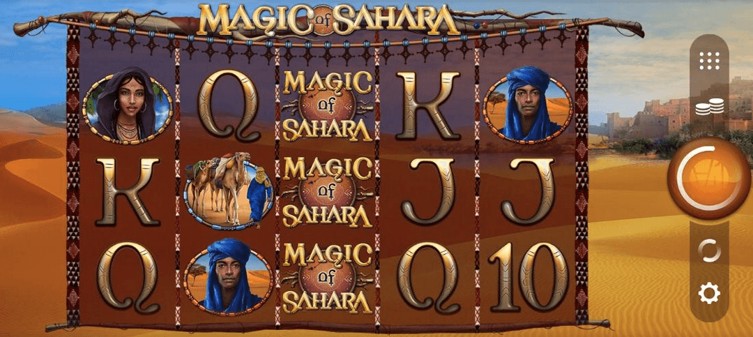 Magic of Sahara Slot Mobil