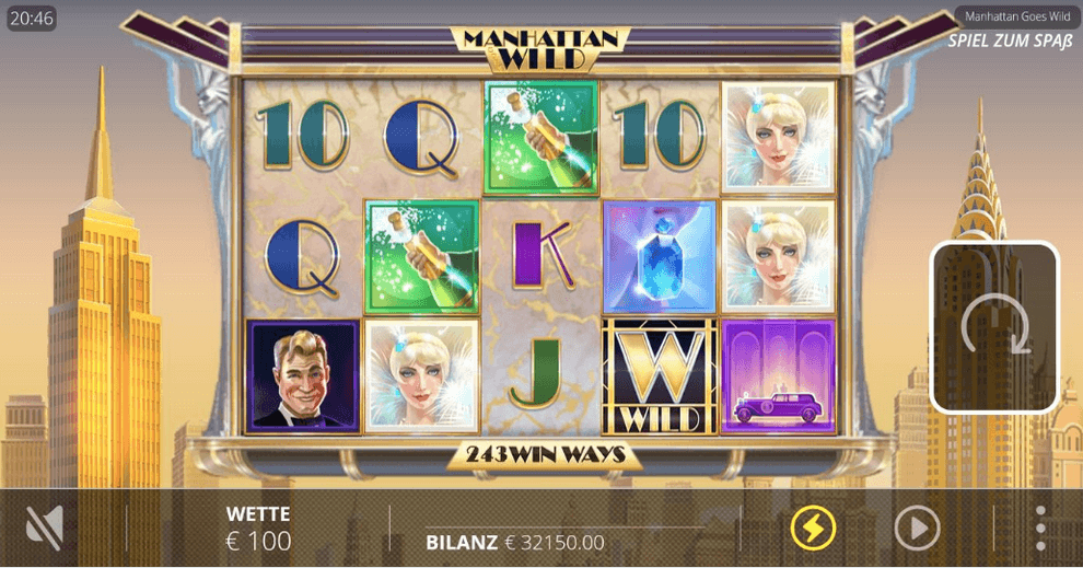 Manhattan Goes Wild Slot mobil