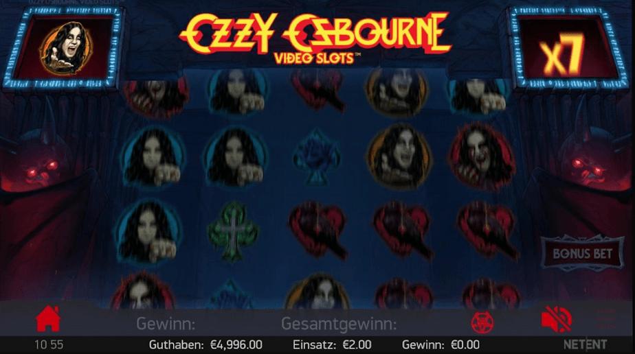 Ozzy Osbourne Slot mobil