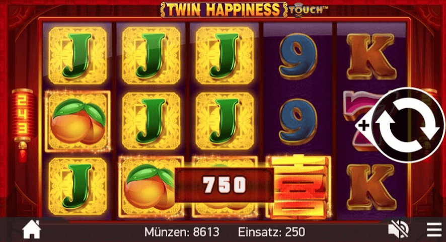 Twin Happiness Slot Mobil