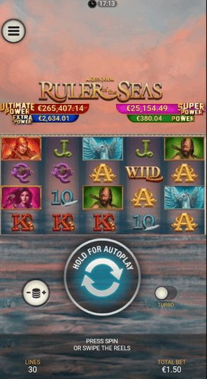 Age of Gods: Ruler of the Seas Slot Mobil