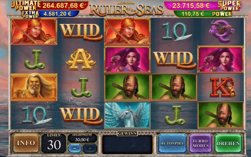 Age of Gods: Ruler of the Seas Slot
