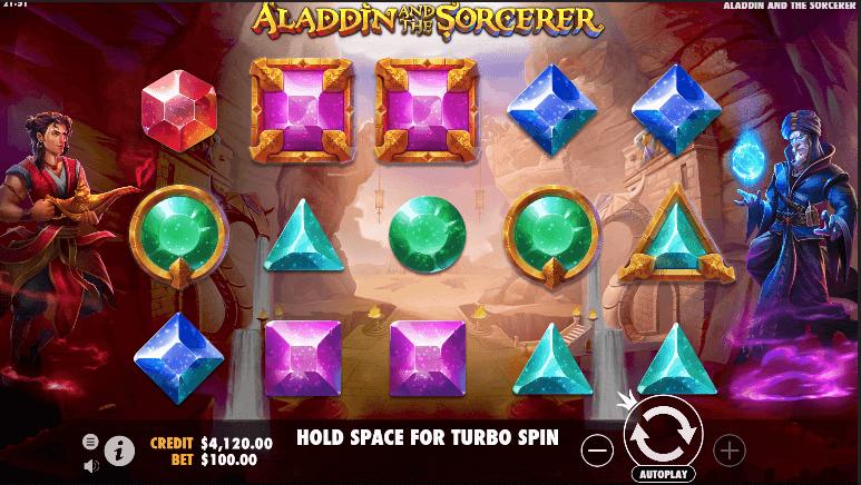 Aladdin and the Scorcerer Slot