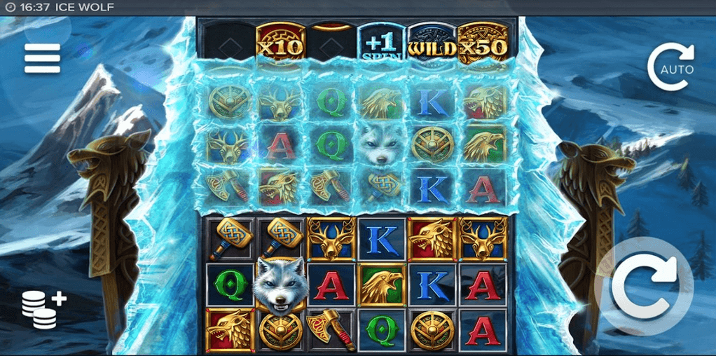 Ice Wolf Slot mobil