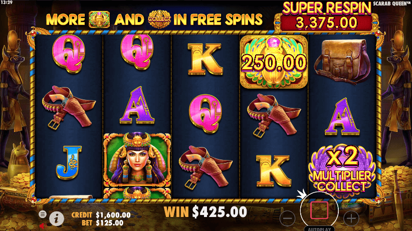John Hunter and the Scarab Queen Slot