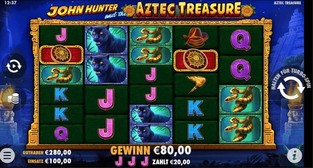 John Hunter Aztec Treasure Slot Mobil
