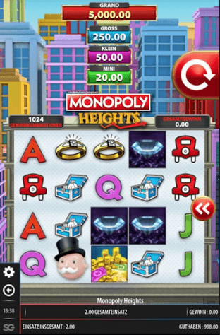 Monopoly Heights Slot Mobil