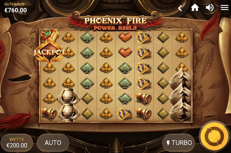 Phoenix Fire Power reels slot Mobil