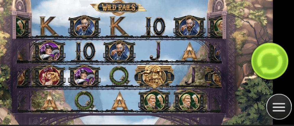 Wild Rails Slot Mobil