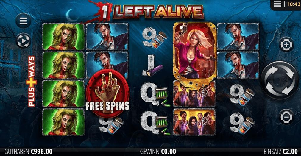 1 Left Alive Slot Mobil