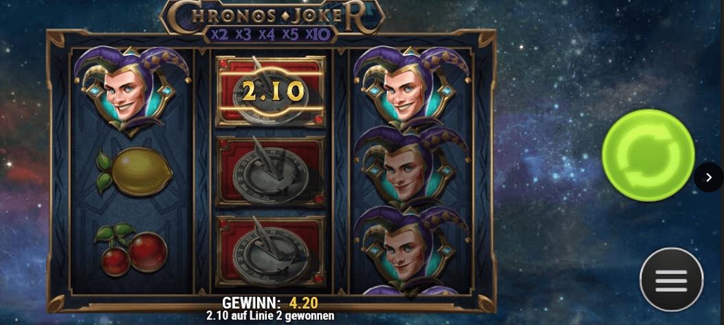 Chronos Joker Slot Mobil