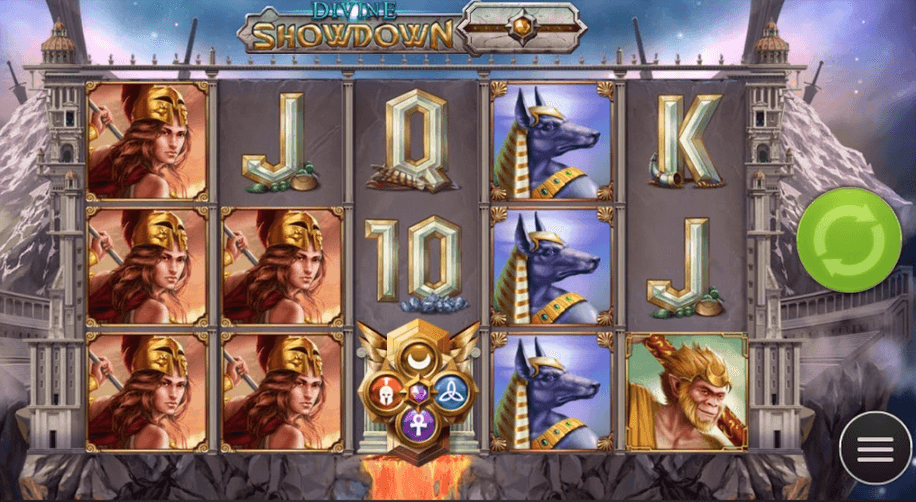 Divine Showdown Slot Mobil