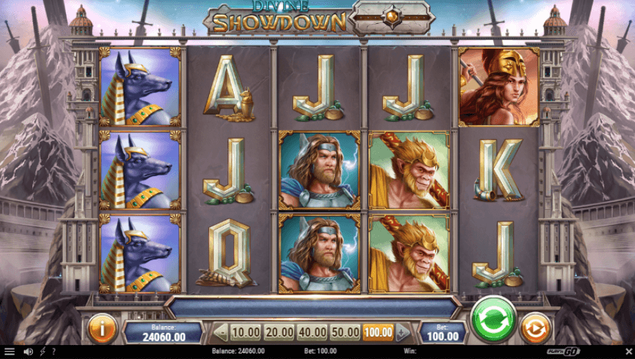 Divine Showdown Slot