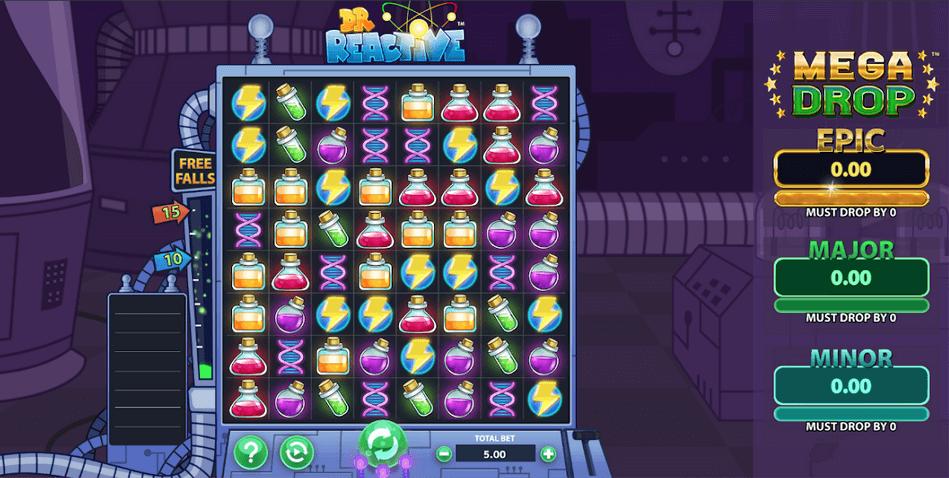 Doctor Reactive Mega Drop Slot