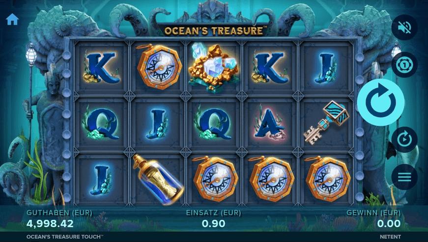 Ocean's Treasure Slot Mobil