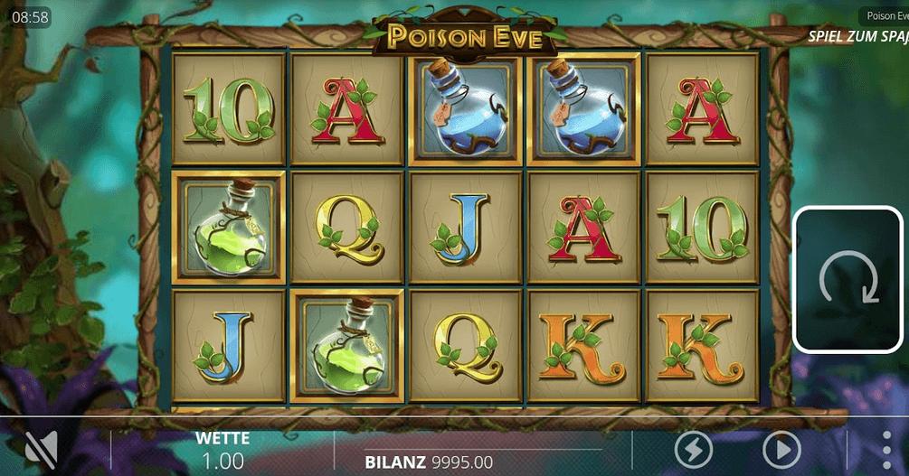 Poison Eve Slot Mobil