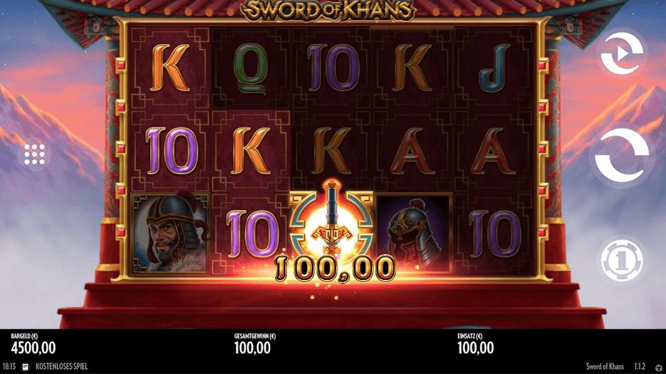 Sword of Khans Slot Mobil