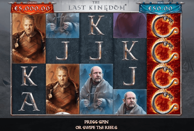 The Last Kingdom Slot Mobil